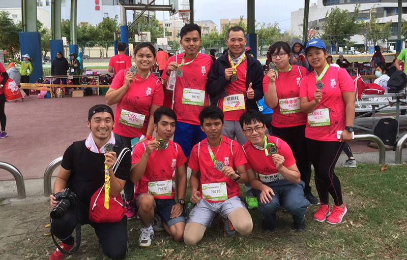 28 colleagues to join the road running event
