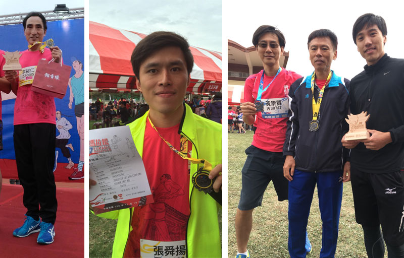 Let's run again at 2018 Lukang marathon~ Go!